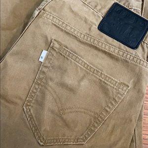 Levi's 520 khaki jeans. 30x30.